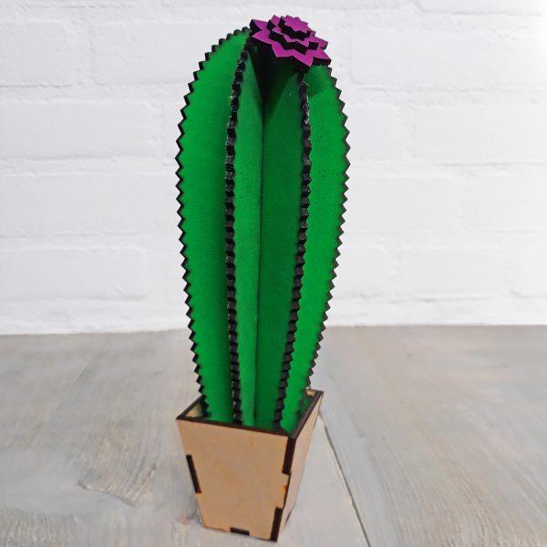 houten cactus