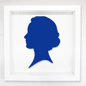 Lasercut portrait