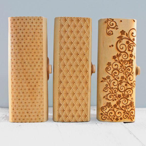 Bamboe brillenkoker