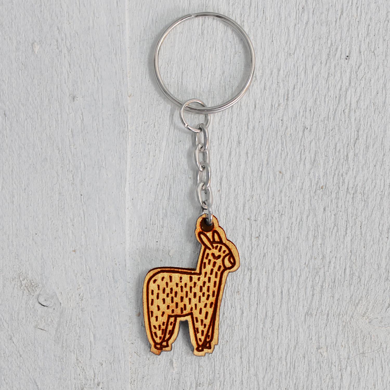 alpaca sleutelhanger