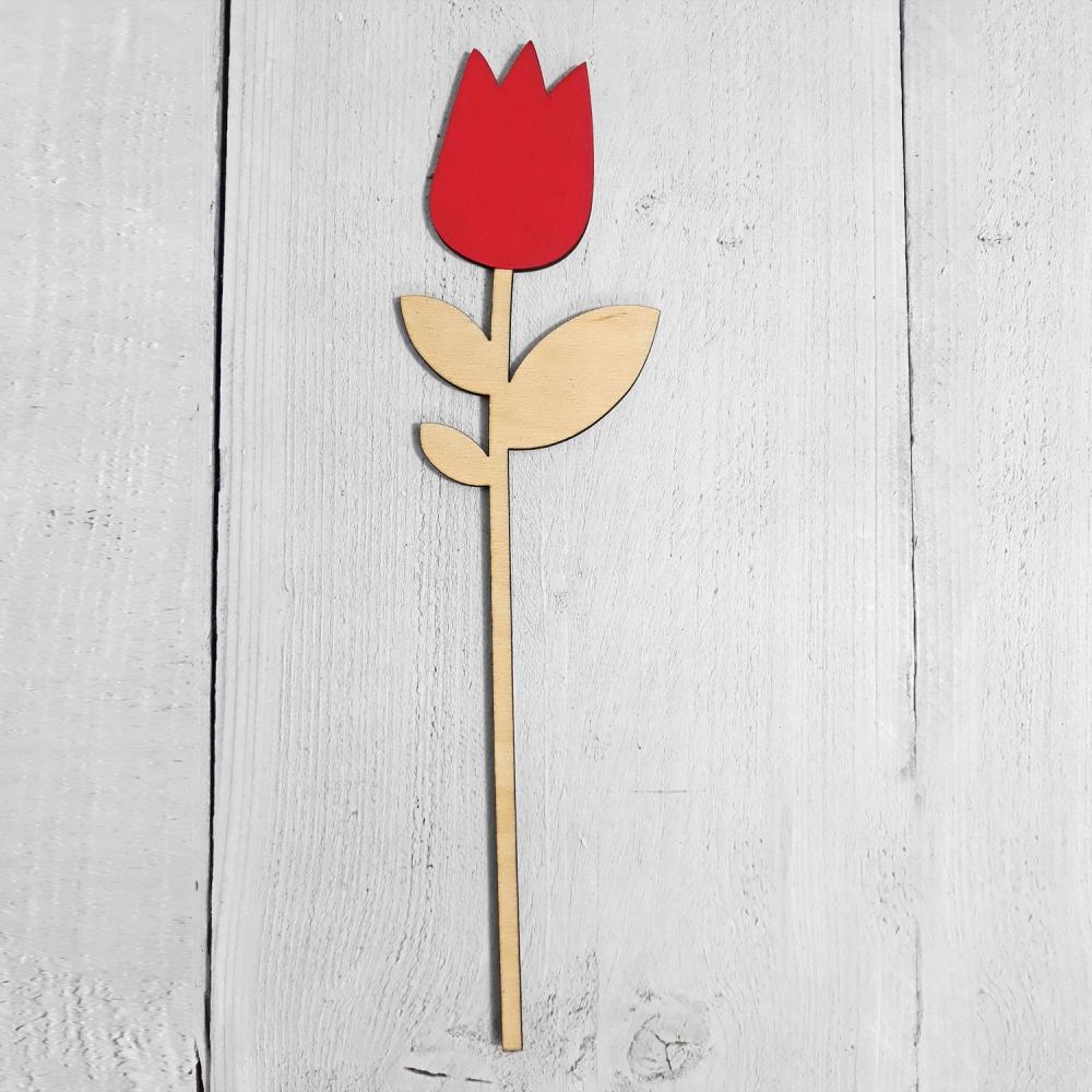 houten bloemen